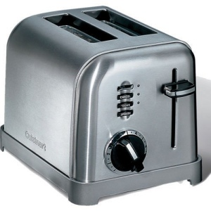 Toster acier 2t Cuisinart publicitaire