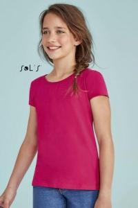4826c8b84f2c7 Tee-shirt fillette - MELODY - Blanc