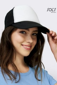 Casquette filet publicitaire -BUBBLE