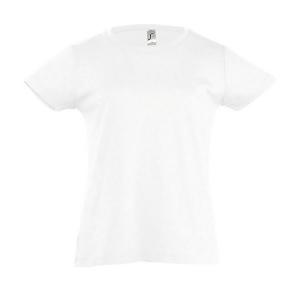 995c696c0a6d3 Tee-shirt fillette - CHERRY - Blanc personnalisable - PFD67861 - PFD ...