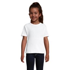 9096e5744eac1 Tee-shirt fillette - CHERRY - Blanc
